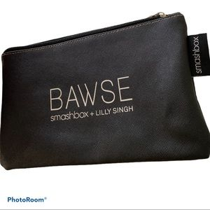 Smashbox  BAWSE black white Cosmetic Bag